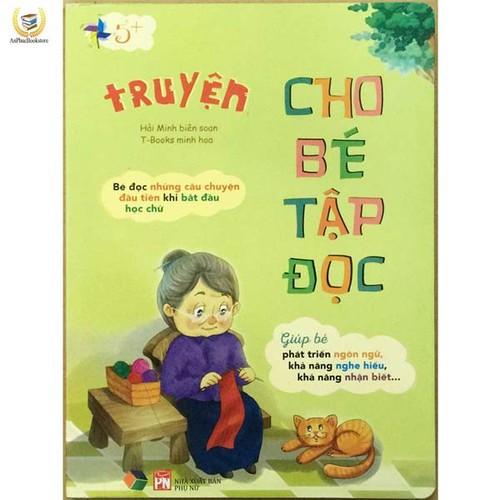 Sách giấy cứng - truyện cho bé tập đọc