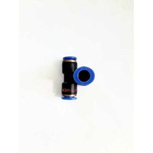 Nối ống pu 8 mm combo 10 cái nối thẳng ống 8mm