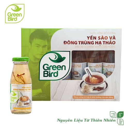 Hộp quà green bird - nước uống bổ dưỡng yến sào và đông trùng hạ thảo - 6 chaix185ml - 17724337 , 22099000 , 15_22099000 , 208000 , Hop-qua-green-bird-nuoc-uong-bo-duong-yen-sao-va-dong-trung-ha-thao-6-chaix185ml-15_22099000 , sendo.vn , Hộp quà green bird - nước uống bổ dưỡng yến sào và đông trùng hạ thảo - 6 chaix185ml