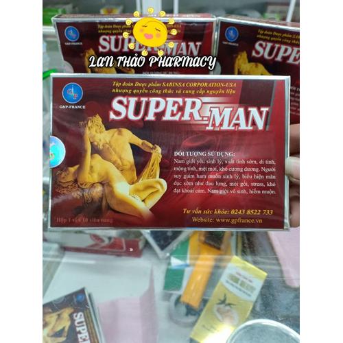 Tăng cường sinh lý super man gp
