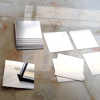 Set 16 miếng gương dẻo dán tường - Mỗi miếng 15cmx15cm - 16g thumbnail