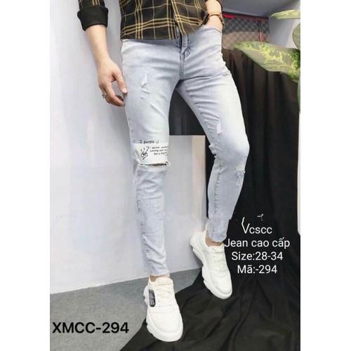 Quần jeans nam rách q294