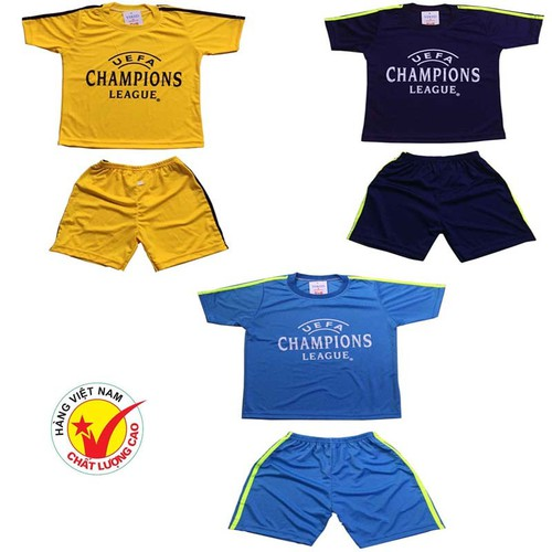Sét 3 bộ đồ thể thao trẻ em, áo đấu câu lạc bộ dành cho bé trai và bé gái, thời trang thun lạnh cho bé từ 10-40kg - 17745348 , 22126641 , 15_22126641 , 210000 , Set-3-bo-do-the-thao-tre-em-ao-dau-cau-lac-bo-danh-cho-be-trai-va-be-gai-thoi-trang-thun-lanh-cho-be-tu-10-40kg-15_22126641 , sendo.vn , Sét 3 bộ đồ thể thao trẻ em, áo đấu câu lạc bộ dành cho bé trai và b