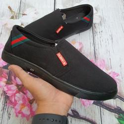 Giày Lười Vải Nam Thời Trang Cao Cấp