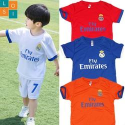 Set 4 bộ đồ thể thao cho bé trai từ 3-10 tuổi thoáng mát mùa hè - LOSI Fly 4 màu