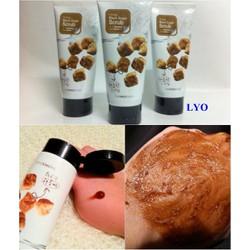 Tẩy Da Chết đường đen mật ong The Face Shop Smart Peeling Honey Black Sugar Scrub