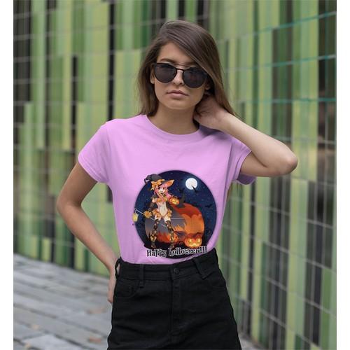 Áo thun nữ in hình cô gái sexy - cotton thun - phong cách dẽ thương - cá tính và đẹp