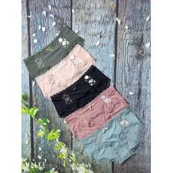 Quần lót lạnh đan dây hai bên cao cấp ấp đồ ngủ đồ lót nữ