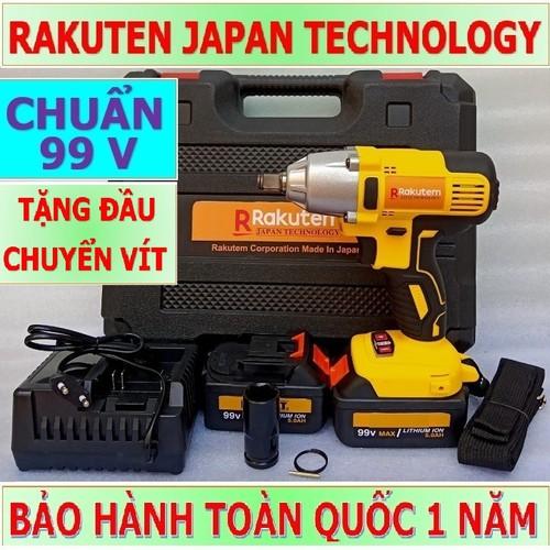 Máy khoan và siết bulong dùng pin  99v – máy khoan và siết bulong dùng pin  99v rakutem 2 pin