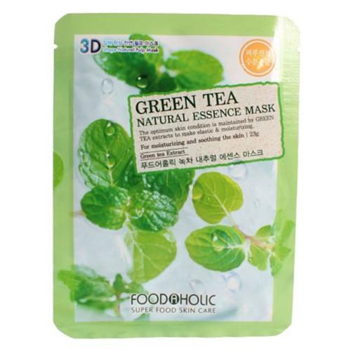 50 miếng mặt nạ trà xanh foodaholic hàn quốc