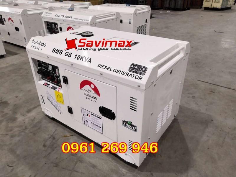 Máy phát điện BamBoo BmB GS10KVA công suất 10kva chạy dầu, 1 pha - 1