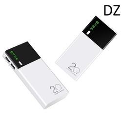 Pin sạc dự phòng có led 20000mAH cao cấp 2 cổng USB