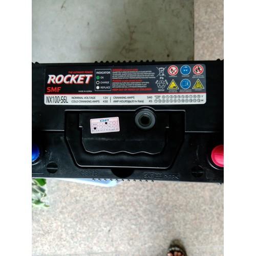 Ắc quy rocket 45 ah bình khô