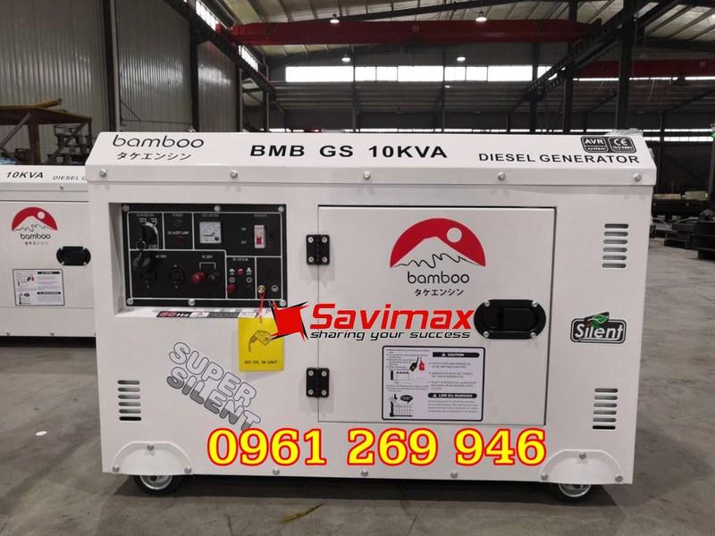 Máy phát điện BamBoo BmB GS10KVA công suất 10kva chạy dầu, 1 pha - 2