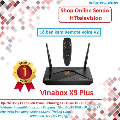 Vinabox x9 plus - có bán kèm remote voice v2