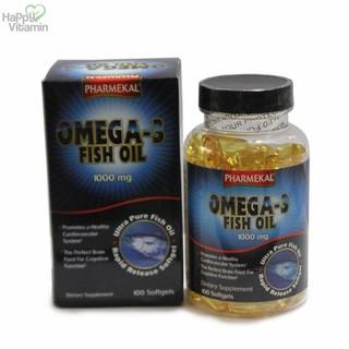 Viên Uống Dầu Cá Omega 3 Fish Oil Pharmekal - 100 Viên - HAFIPH100V thumbnail
