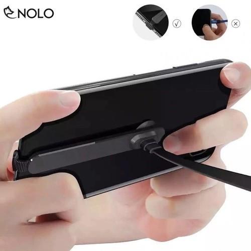 Cáp sạc chơi game gắn lưng chống gãy đầu dây siêu dính type-c iphone