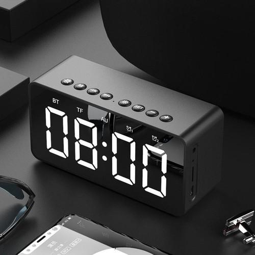 Loa đa năng mini , đồng hồ báo thức bt506,loa bluetooth bass cực đỉnh hỗ trợ bluetooth 5.0