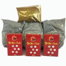 COMBO đầy đủ Bộ thất bảo chuẩn nạp cốt bát hương, cốt tượng thờ cúng thần tài thổ địa + Tro nếp + Bột thơm ngũ vị bao sái