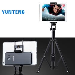 Tripod yunteng có thể làm gậy selfie YT1688 kèm pad gắn iPad - Hàng Chính Hãng