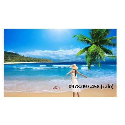 Tranh gạch men 3d  bãi biển cây dừa - 12483290 , 21376163 , 15_21376163 , 1400000 , Tranh-gach-men-3d-bai-bien-cay-dua-15_21376163 , sendo.vn , Tranh gạch men 3d  bãi biển cây dừa