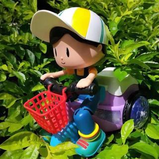 Đồ chơi bé đi xe đạp phát nhạc - Xe đồ chơi cho bé xoay 360 độ có nhạc và đèn [ĐƯỢC KIỂM HÀNG] - 21379275 thumbnail