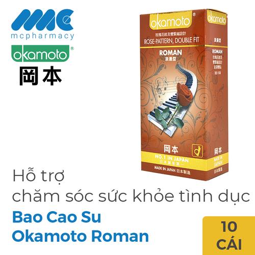 Bao cao su okamoto roman