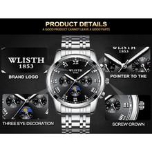 Đồng hồ đôi dây da Đồng hồ đôi dây da OLEVS 6898 thời trang chống thấm nước - Giá 1 chiếc 8
