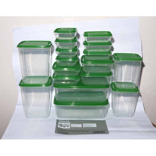 Bộ hộp nhựa đựng thực phẩm 17 món an toàn tiện lợi