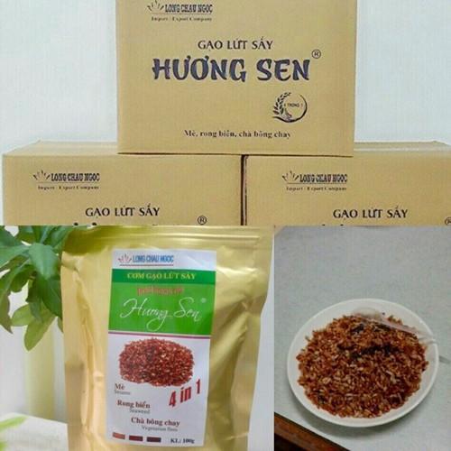Cơm gạo lứt sấy hương sen 4in1 - 1 thùng 30 bịch - 13235122 , 21385720 , 15_21385720 , 750000 , Com-gao-lut-say-huong-sen-4in1-1-thung-30-bich-15_21385720 , sendo.vn , Cơm gạo lứt sấy hương sen 4in1 - 1 thùng 30 bịch