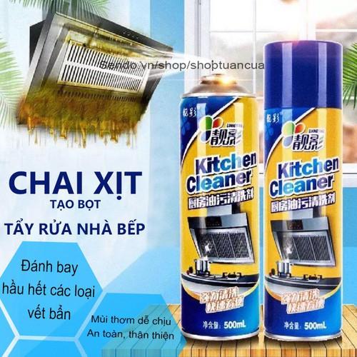 Chai xịt tẩy rửa tạo bọt đa năng kitchen cleaner 500ml + tặng 1 đôi găng tay cao su - 17015697 , 22151882 , 15_22151882 , 45000 , Chai-xit-tay-rua-tao-bot-da-nang-kitchen-cleaner-500ml-tang-1-doi-gang-tay-cao-su-15_22151882 , sendo.vn , Chai xịt tẩy rửa tạo bọt đa năng kitchen cleaner 500ml + tặng 1 đôi găng tay cao su
