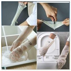 Găng tay cao su siêu dai đa năng chăm sóc nhà cửa