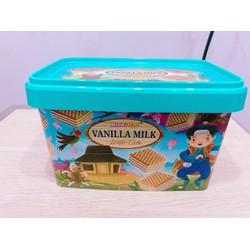 Bánh Xốp BISKITOP hộp 180g hàng Indonesia- Vani
