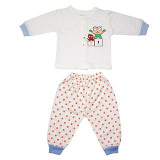 Bộ quần áo dài tay thu đông cotton cao cấp cho bé trai ,bé gái từ 3-12kg - ảnh thật - bộ quần áo thu đông , bộ quần áo dài tay, bộ quần áo dài tay cho bé sơ sinh