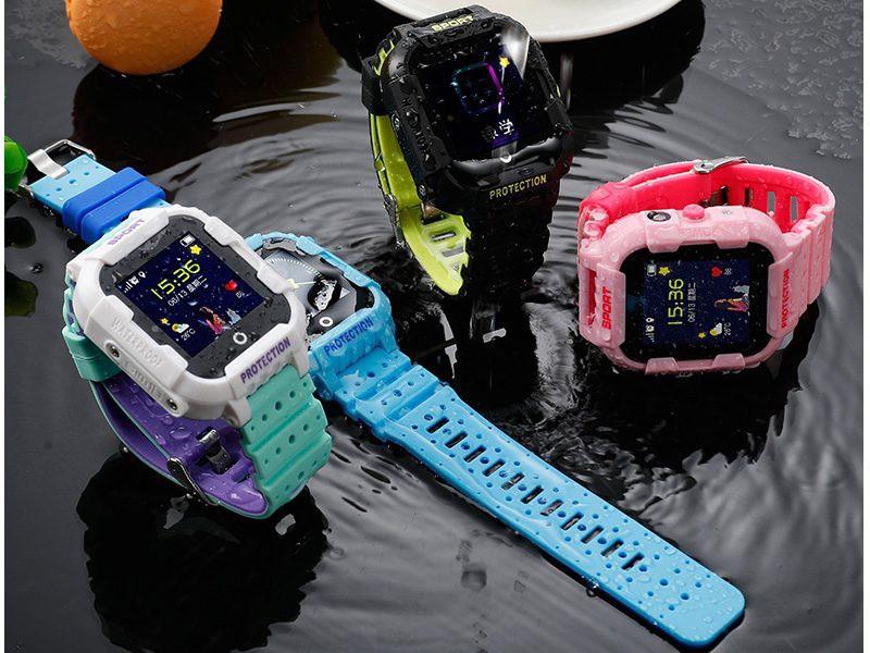 Đồng hồ định vị trẻ em Wonlex KT03 có Camera, chống nước IP67 - nhiều màu