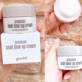 Kem Dưỡng Trắng Da Ốc Sên Mini Goodal Premium Snail Tone Up Cream 10ml - chính hãng - Kem Ốc Sên Mini