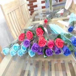 MIỄN SHIP KHI MUA combo 10 bông hoa hồng sáp thơm quà tặng 20 11