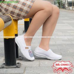 Giày nữ Giày Lười nữ Anh Khoa chất liệu sợi dệt nhập khẩu cao cấp, Giày Việt Nam xuất khẩu EU CH993-7
