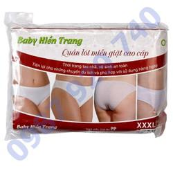 Combo 5 Quần lót cho bà bầu, quần lót giấy dùng 1 lần sau sinh , quần lót bầu, đồ bà bầu