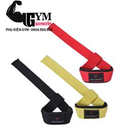 Dụng cụ thể dục thể thao - Dây kéo lưng - Lifting Straps - sản phẩm hỗ trợ tập gym màu Đen