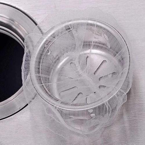 Gói 100 túi lọc rác thông minh cho bồn rửa chén