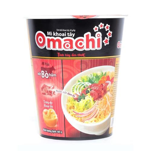 Mì khoai tây omachi xốt bò hầm lốc 6 ly x 68g - 13249369 , 21405687 , 15_21405687 , 66000 , Mi-khoai-tay-omachi-xot-bo-ham-loc-6-ly-x-68g-15_21405687 , sendo.vn , Mì khoai tây omachi xốt bò hầm lốc 6 ly x 68g