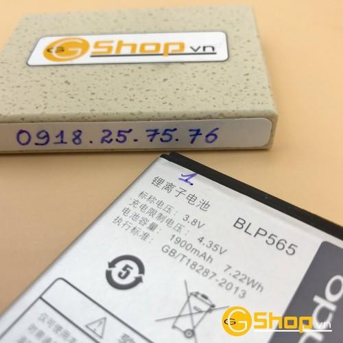 Pin oppo blp565, 1900mah cho oppo r2017 chính hãng, loại 1