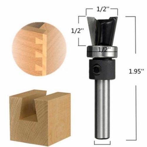 Mũi dao phay gỗ tạo mộng cánh én cốt 6 3 ly - 13247648 , 21403551 , 15_21403551 , 209000 , Mui-dao-phay-go-tao-mong-canh-en-cot-6-3-ly-15_21403551 , sendo.vn , Mũi dao phay gỗ tạo mộng cánh én cốt 6 3 ly
