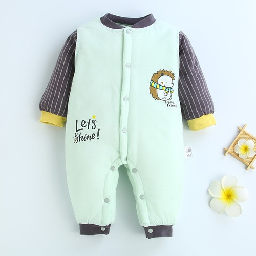 Body áo liền quần thời trang mùa đông cho trẻ sơ sinh