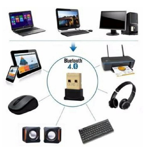 Usb bluetooth 4.0 -hỗ trợ bluetooth cho máy tính, laptop