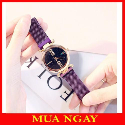 Đồng hồ thời trang nữ dây lưới nam châm mặt kim tuyến - 13243433 , 21397343 , 15_21397343 , 158000 , Dong-ho-thoi-trang-nu-day-luoi-nam-cham-mat-kim-tuyen-15_21397343 , sendo.vn , Đồng hồ thời trang nữ dây lưới nam châm mặt kim tuyến