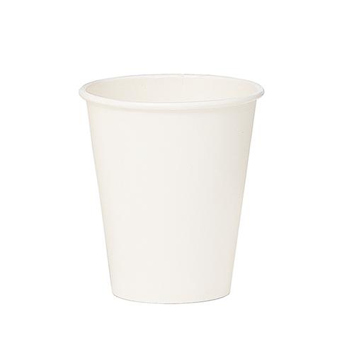 Lốc 100 ly giấy màu trắng trơn 4oz - 118ml