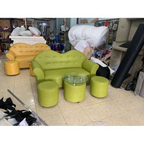 Sofa bộ- bộ salon đẹp giá rẻ