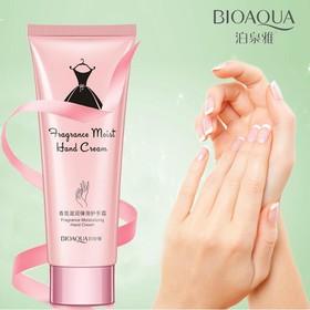 [CHÍNH HÃNG] Kem dưỡng ẩm da tay, móng, chống nhăn hương hoa hồng BIOAQUA, kem dưỡng da tay nội địa Trung - KR-DT01